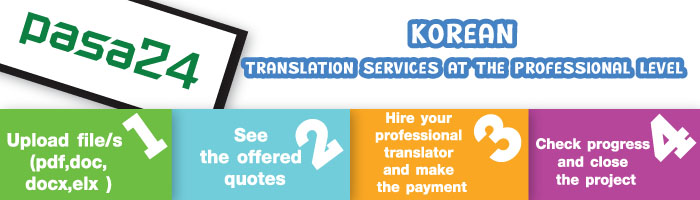 Korean Translation Services at the Professional Level